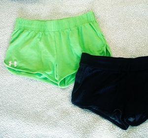 2 sz S Nike/Under Armour shorts